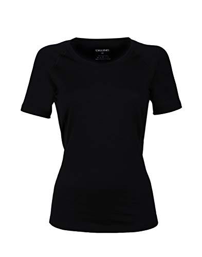 Dilling Merino T-Shirt für Damen – aus 100% extra feiner, hautfreundlicher, exklusiver Merinowolle
