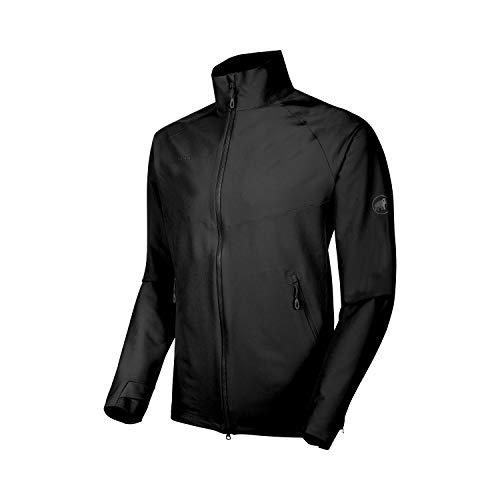 Mammut Herren Macun Softshell-Jacke, Black, XL