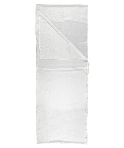 Meru Innenschlafsack/Hüttenschlafsack/Reiseschlafsack Mummy Liner Silk Bordeaux (502) 0