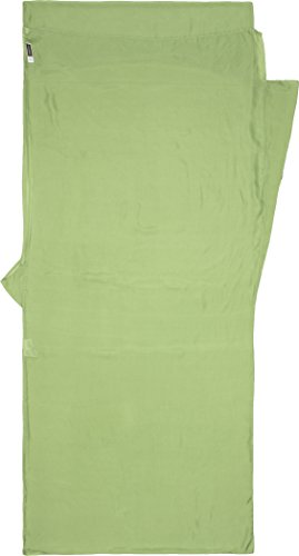 Cocoon Anti-Mücken Seidenschlafsack Insect Shield Line Travelsheet - Silk, 210 x 86 cm, Vine Green
