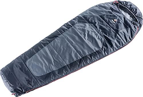 deuter Dream Lite 500 Regular Schlafsack 37071-41001x Titan/Black - Zip Left