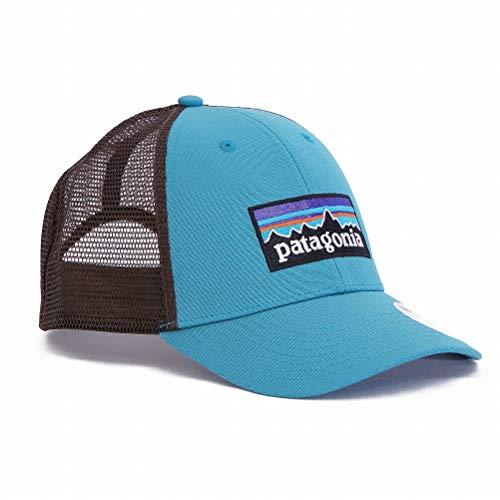 Patagonia Uni P-6 Logo LoPro Trucker Hat, Black, One size, 38016-BLK-ALL