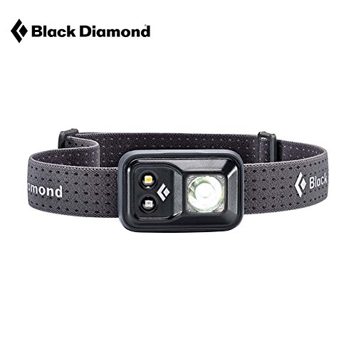 Black Diamond Cosmo Headlamp Black / Outdoor Stirnlampe mit Rotlicht und Dimmfunktion / Batteriebetrieben, max. 200 Lumen